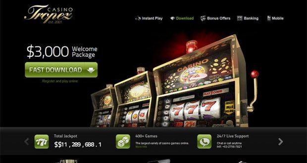 Casino Tropez - online Casino