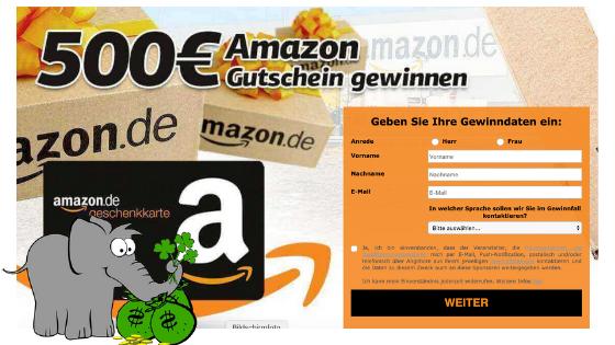 Amazon Gutschein gewinnen Galerie