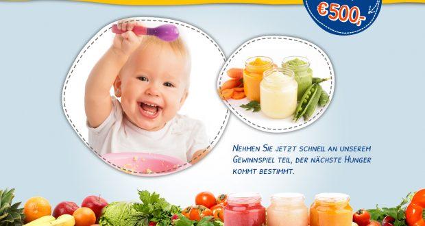 Babynahrung gewinnen Vorschau
